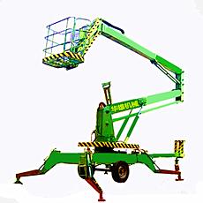 简易两轮曲臂式升降机